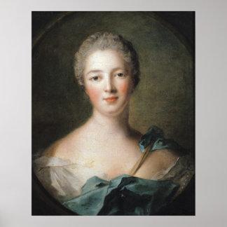Madame de Pompadour 1748 Affiche