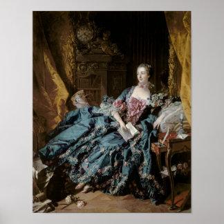 Madame de Pompadour, 1756 Affiche