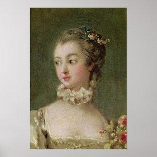 Madame de Pompadour Affiche