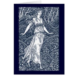 Madame de William Morris Carte De Vœux
