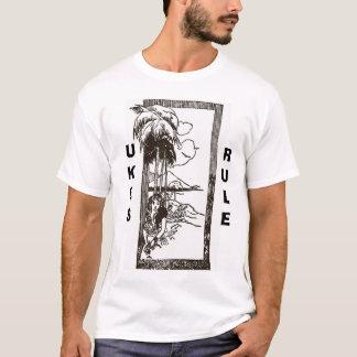 Madame d'Uke - règle d'Ukes T-shirt