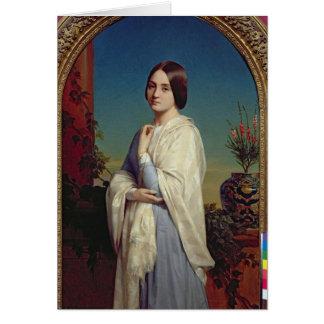 Madame Edouard Dubufe 1842 Carte De Vœux