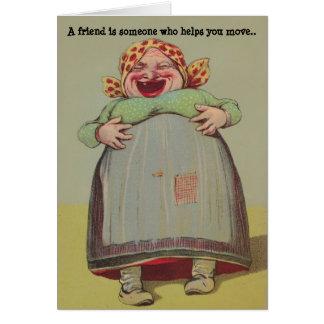 Madame espiègle Friendship Secrets de l'humour LOL Carte De Vœux