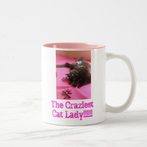 Madame fière de chat de 2 b mugs