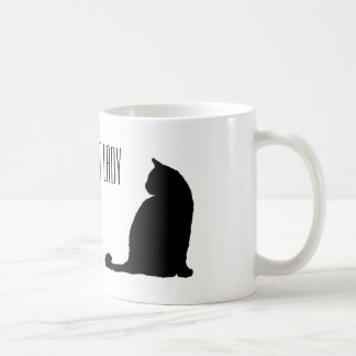 Madame folle classique Mug de chat