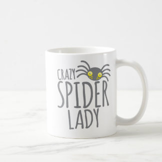 Madame folle d'araignée mug