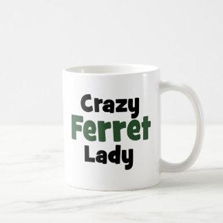 Madame folle de furet mug