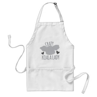 Madame folle de koala tablier