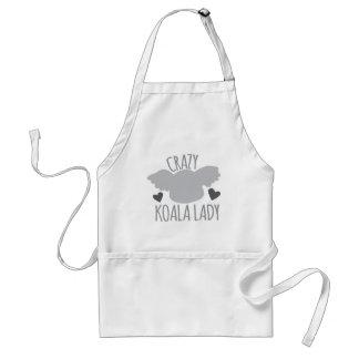 Madame folle de koala tablier