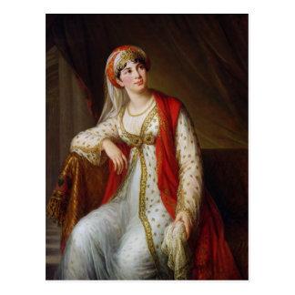 Madame Guiseppina Grassini dans le rôle de Carte Postale