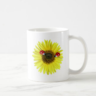 Madame heureuse Bugs de Valxart sur le tournesol Mug