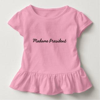 Madame le Président Tee T-shirt Pour Les Tous Petits