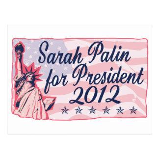 Madame Liberty de Palin Carte Postale