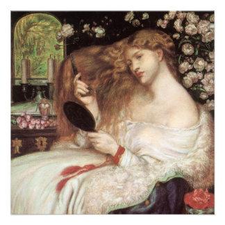 Madame Lilith par Rossetti, Portait victorien Invitations Personnalisées
