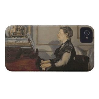 Madame Manet au piano, 1868 de Manet   Coque iPhone 4