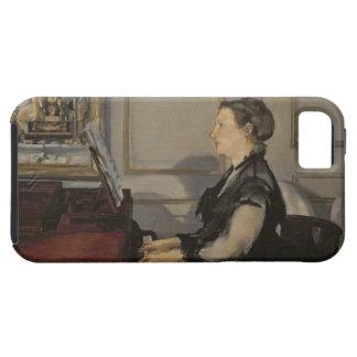 Madame Manet au piano, 1868 de Manet   Coque Tough iPhone 5