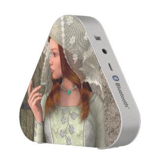 Madame médiévale haut-parleur bluetooth