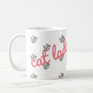 Madame mignonne superbe Mug de chat