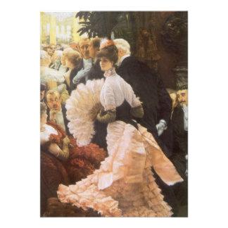 Madame politique par James Tissot cru victorien