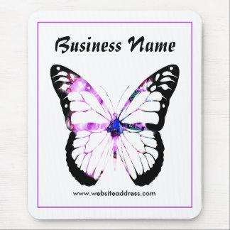 Madame pourpre Mousepad Design 8 de papillon de ch Tapis De Souris