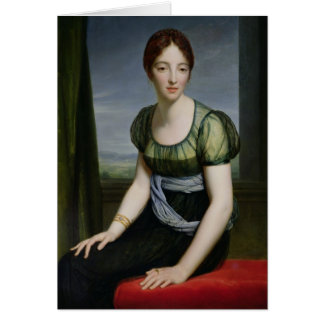 Madame Regnault de Saint-Jean d'Angely Carte De Vœux