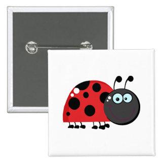 Madame rouge intelligente Bug Badge Avec Épingle
