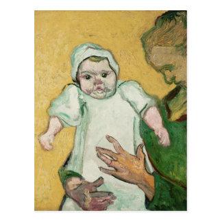 Madame Roulin et son bébé de Vincent van Gogh | Carte Postale