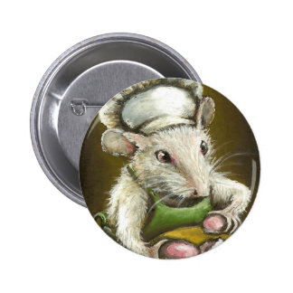 Madame Souris - pâtissière Provençale d'une Badge