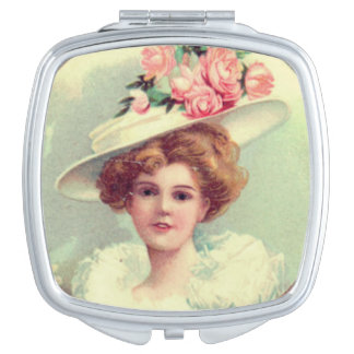 Madame victorienne miroirs compacts