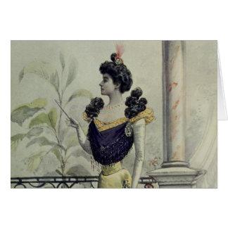 Madame victorienne - mode française vintage - Dres Cartes