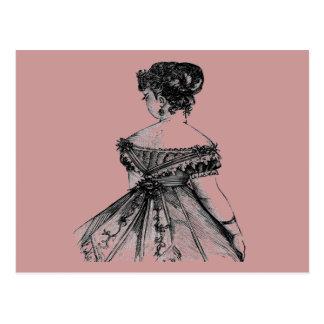 Madame victorienne Postcard Cartes Postales
