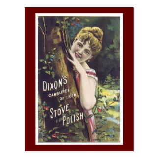 Madame victorienne Postcard de polonais de Cartes Postales