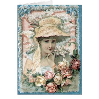 Madame victorienne vintage Everyday Card d annonce Carte De Vœux