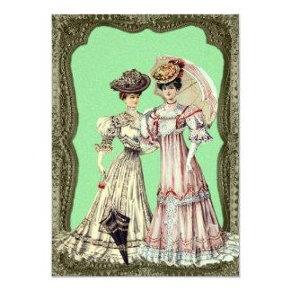Madame victorienne Wedding Invitations