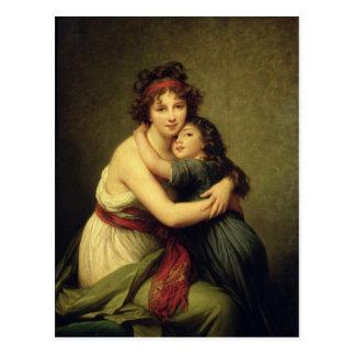 Madame Vigee-Lebrun et sa fille Cartes Postales