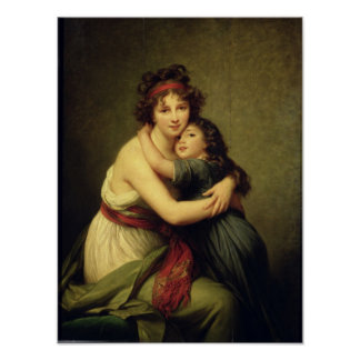 Madame Vigee-Lebrun et sa fille Posters