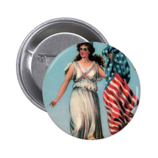 Madame vintage Liberty Badges