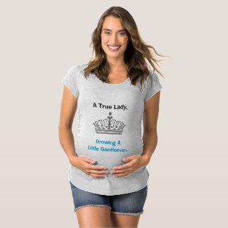 Madame vraie - chemise de maternité T-Shirt de maternité