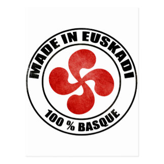 made in Euskadi Bayonne Cartes Postales