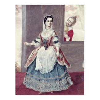 Mademoiselle Contat dans le rôle de Suzanne Carte Postale