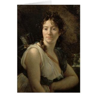 Mademoiselle Duchesnoy dans le rôle du Dido Cartes