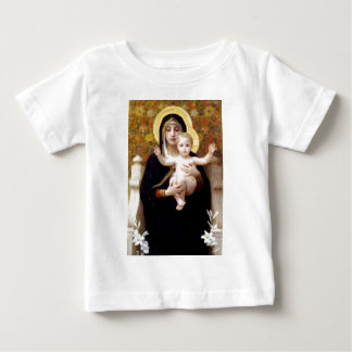 Madona avec la peinture antique de Bouguereau de T-shirts