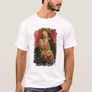 Madonna allaitant son enfant, 1520-30 (huile sur t-shirt