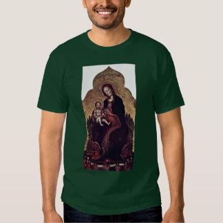 Madonna avec des anges par Gentile da Fabriano T-shirts