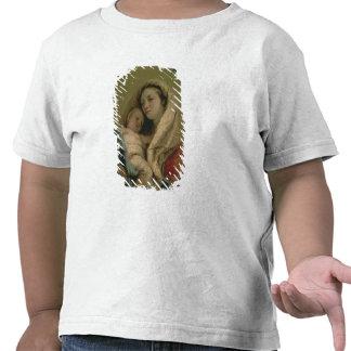 Madonna avec l'enfant de sommeil, 1780s t-shirt