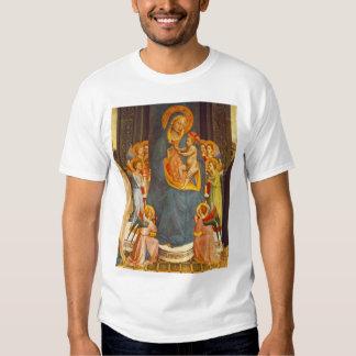 Madonna avec l'enfant du Christ T-shirts