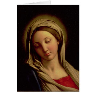 Madonna Carte De Vœux