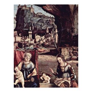 Madonna couronné et Jean-Baptist, laissés : Prospectus En Couleur
