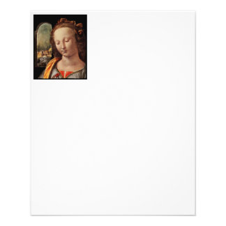 Madonna de l'oeillet prospectus 11,4 cm x 14,2 cm