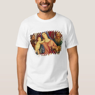 Madonna des cerises avec Joseph T-shirts